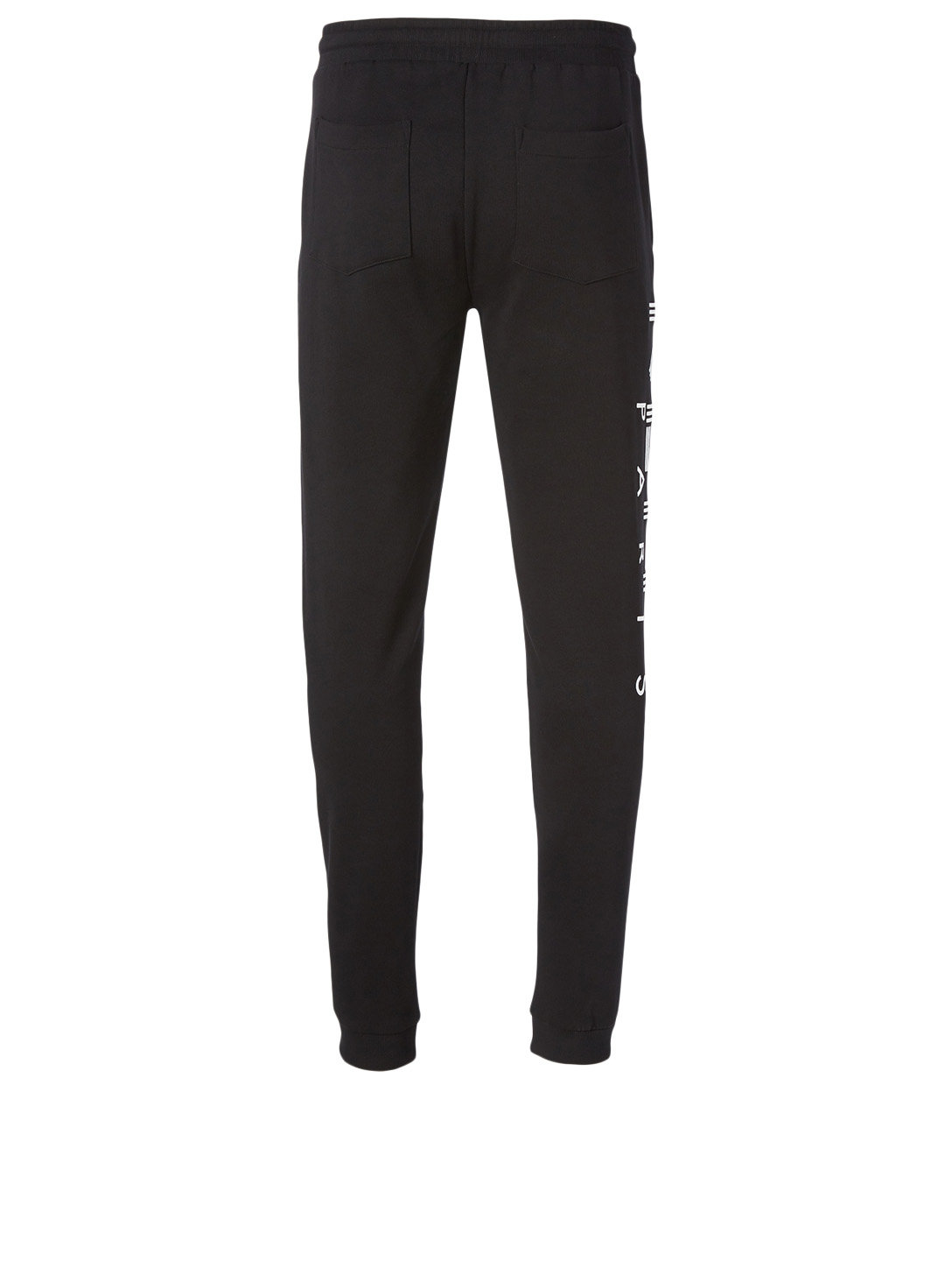 KENZO Cotton Logo Sweatpants Men's Black