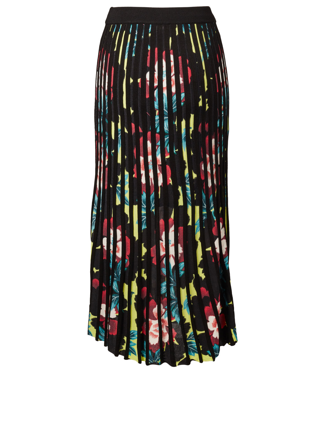 KENZO Pleated Skirt In Floral Print Women's Multi