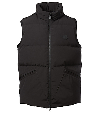 MONCLER Logan Down Vest Men's Black