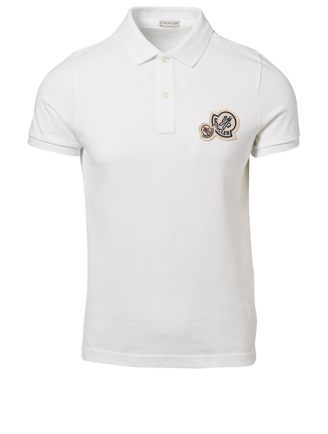 b7cb8672f MONCLER Double Logo Polo Shirt | Holt Renfrew