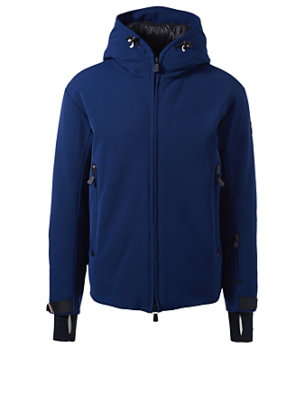 MONCLER GRENOBLE Praz Down Twill Jacket Men's Blue