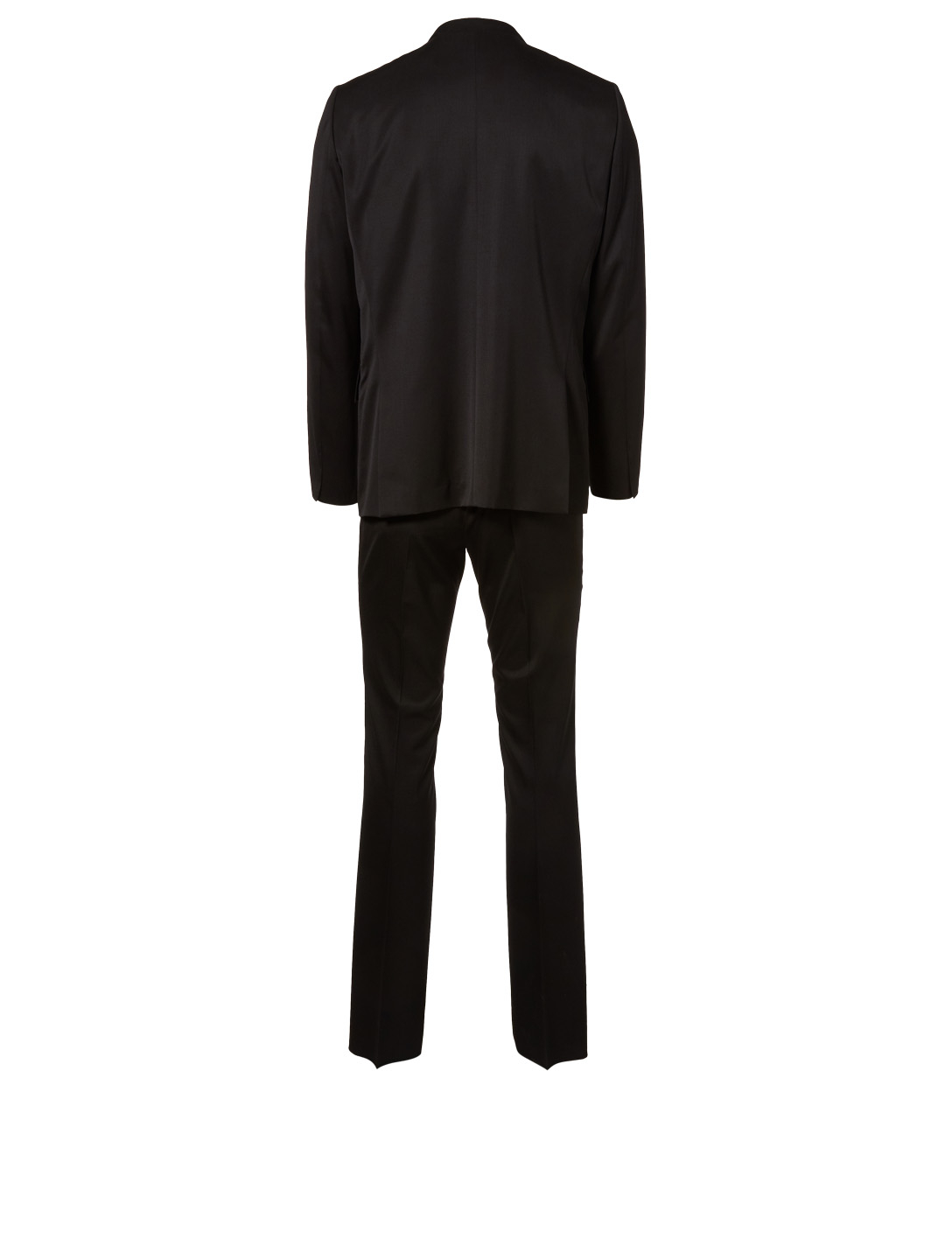THE ROW David Twill Wool Suit Men's Black