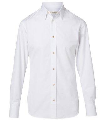 THE ROW Ahmet Shirt Men's White