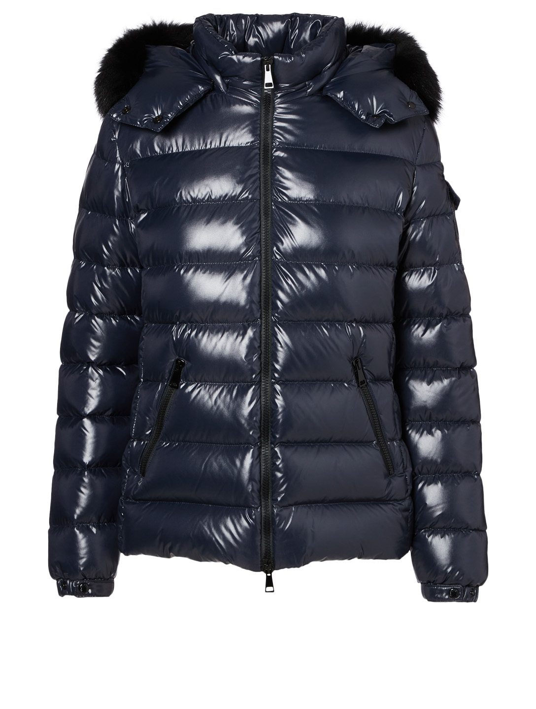 8c3612a69952 MONCLER Badyfur Down Puffer Jacket With Fur Hood
