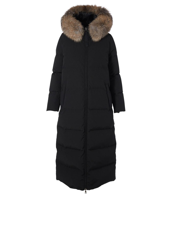Bernache Down Puffer Parka With Fur Hood Parkas Holt Renfrew