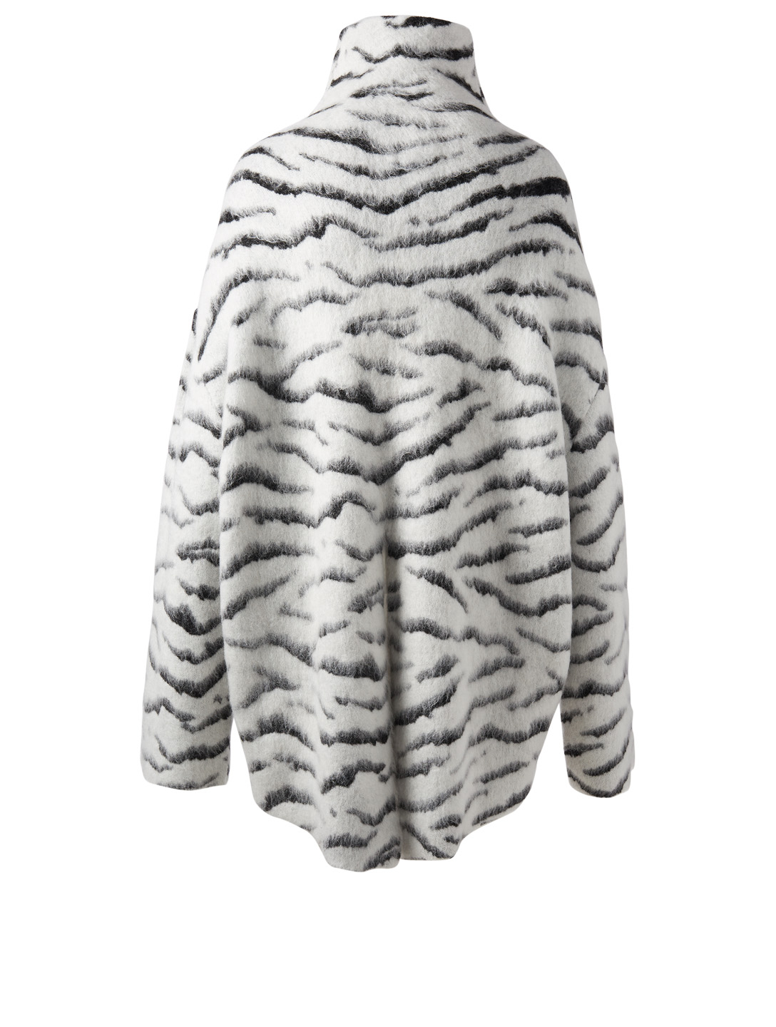 GIVENCHY Oversized Zebra Jacquard Sweater Women's Multi