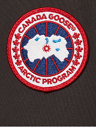 CANADA GOOSE Trillium Down Parka With Fur Womens Grey