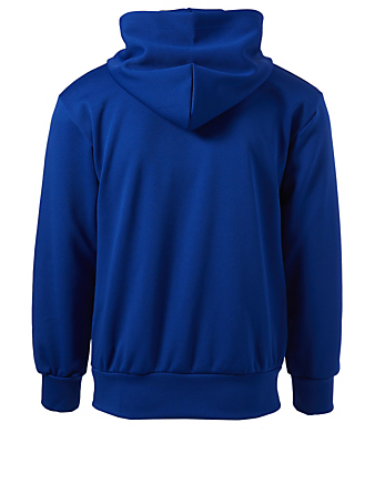 COMME DES GARÇONS PLAY Heart Patch Hoodie Men's Blue