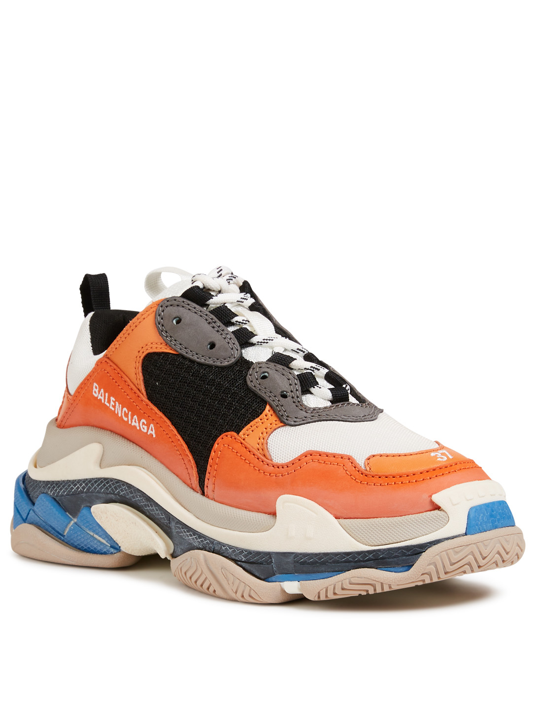BALENCIAGA Triple S Sneakers Women's Orange