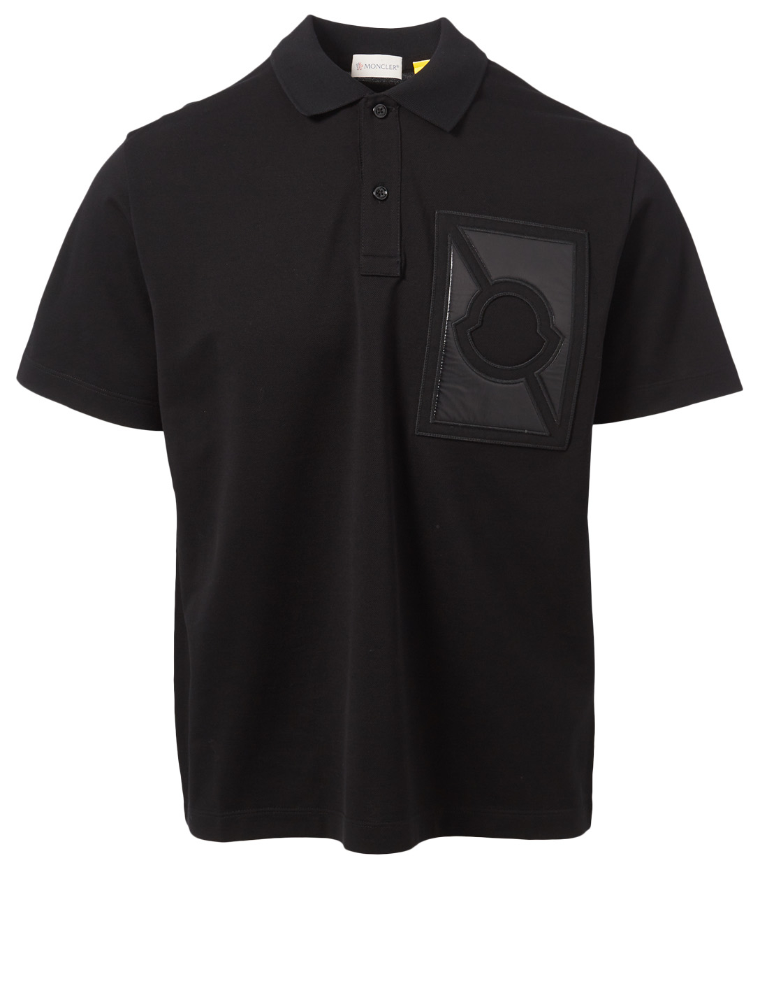 MONCLER GENIUS 5 Moncler x Craig Green Logo Polo T-Shirt Men's Black