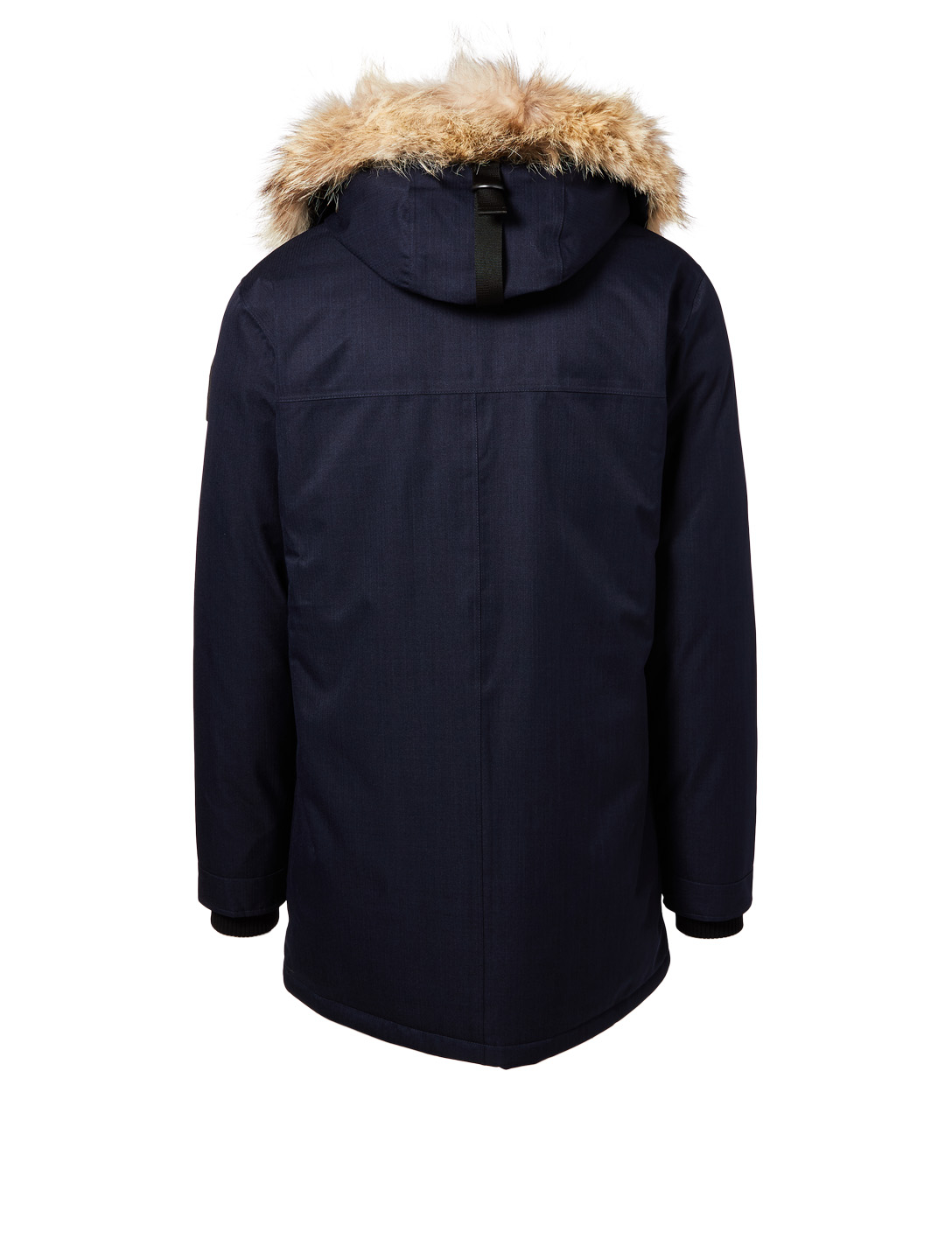 NOBIS Yves Parka With Fur Trim Men's Blue