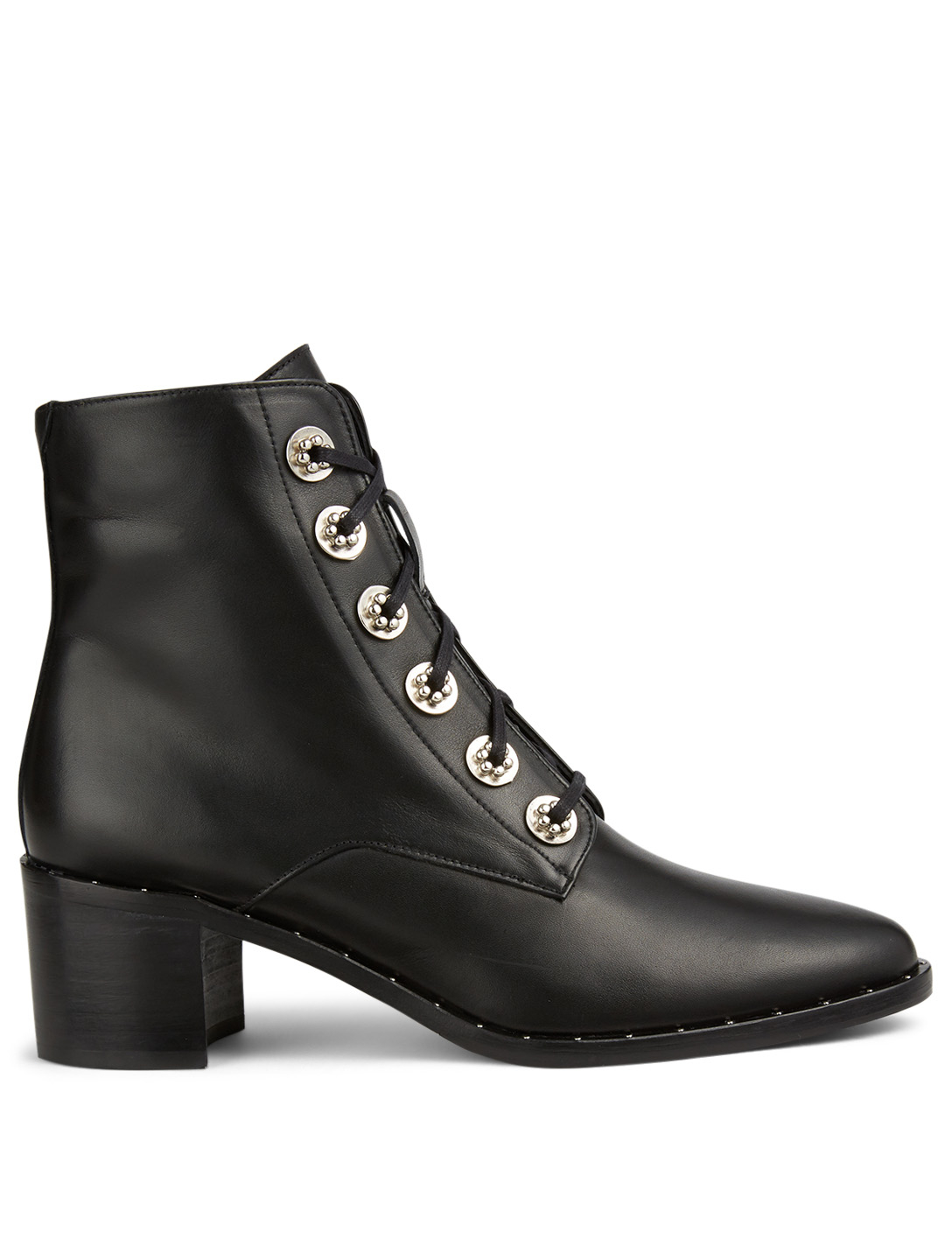 FREDA SALVADOR Ace Leather Ankle Boots Women's Black