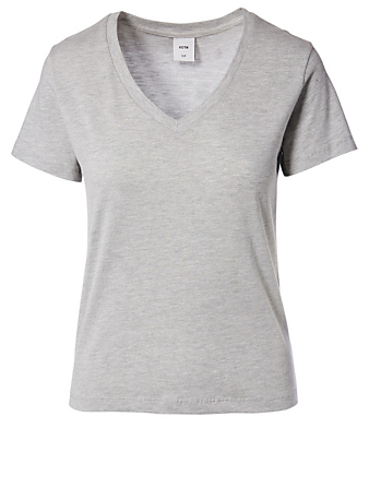 KOTN Easy Cotton V-Neck T-Shirt H Project Grey