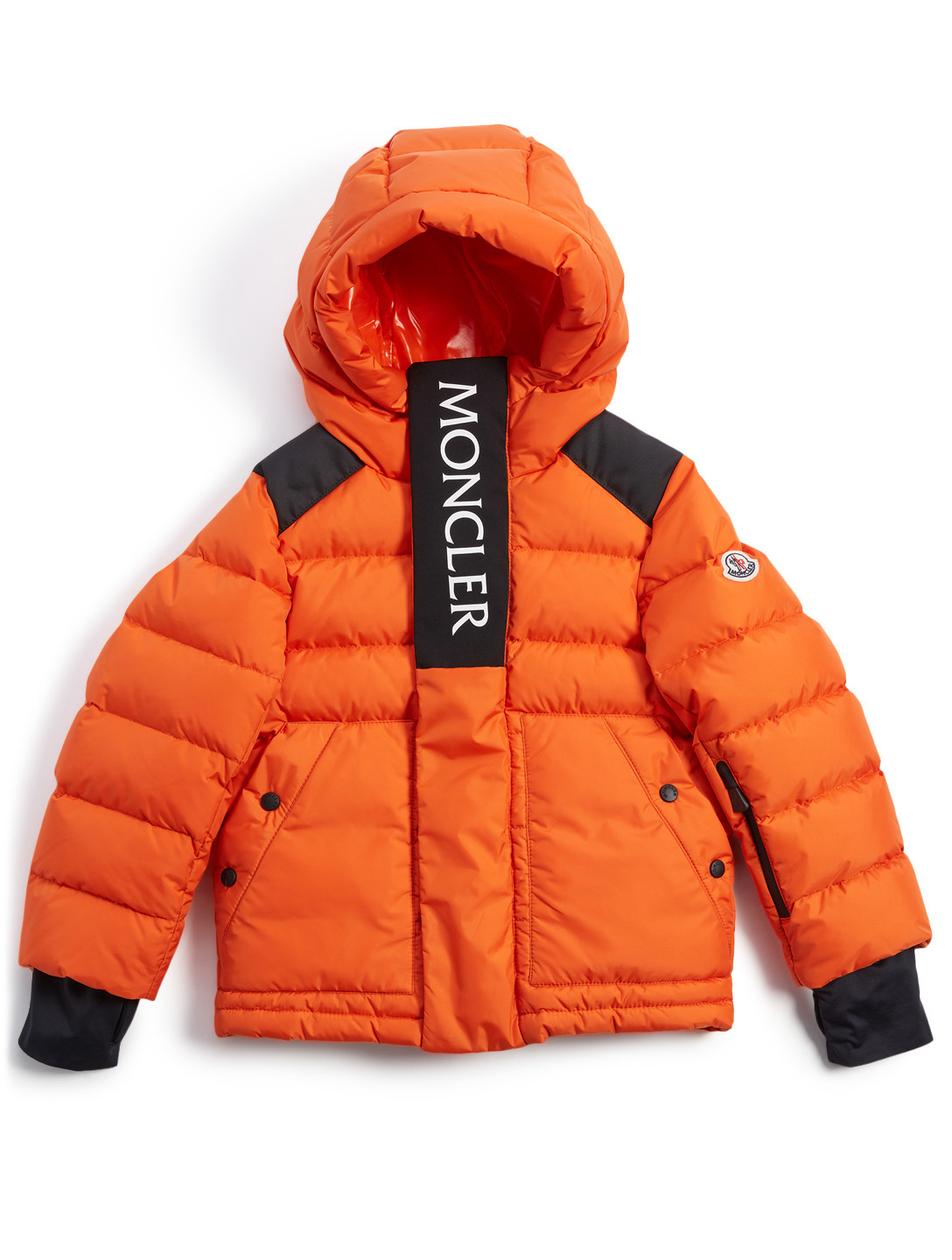 30c7c47a610f MONCLER ENFANT Abeville Boys Puffer Coat With Logo