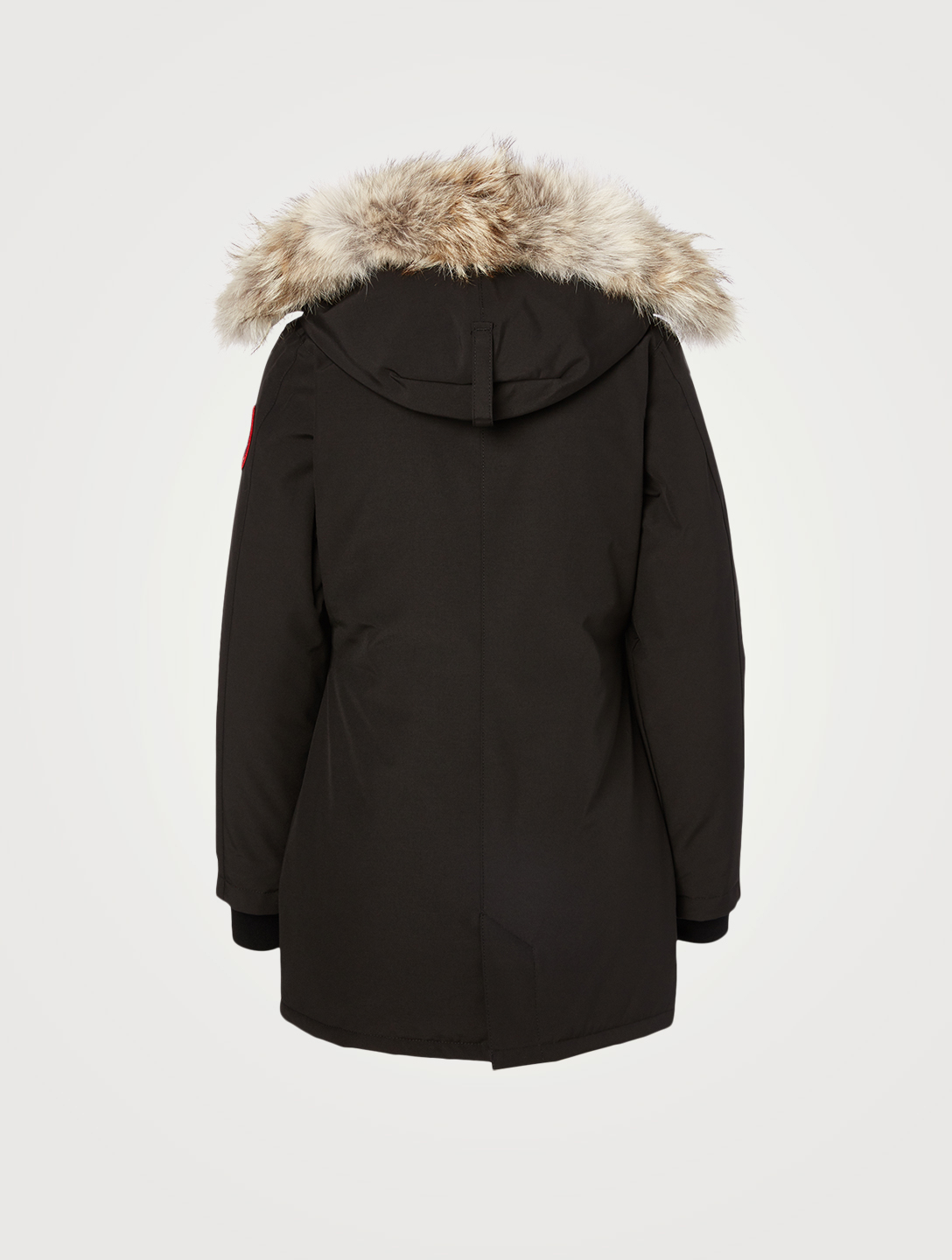 CANADA GOOSE Victoria Down Parka With Fur Hood - Fusion Fit Women's Black