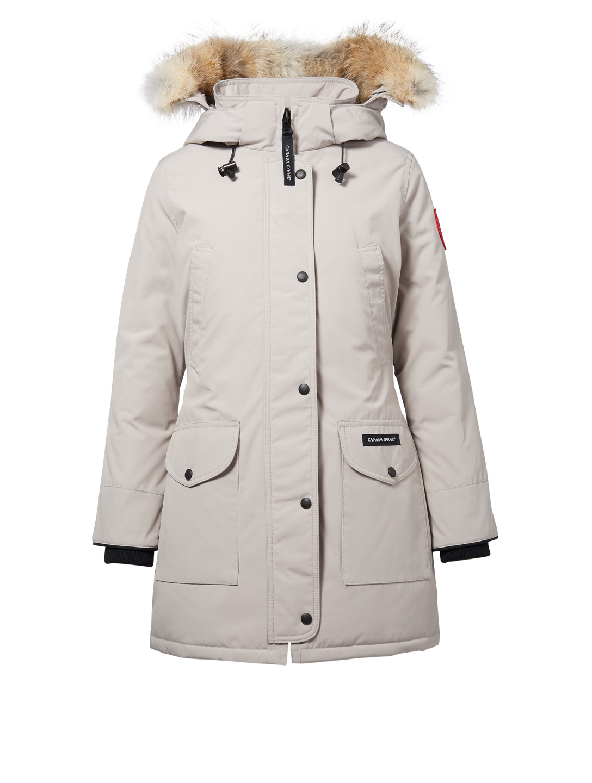 magasin en ligne cd2e2 8ed78 CANADA GOOSE Trillium Down Parka With Fur - Fusion Fit ...