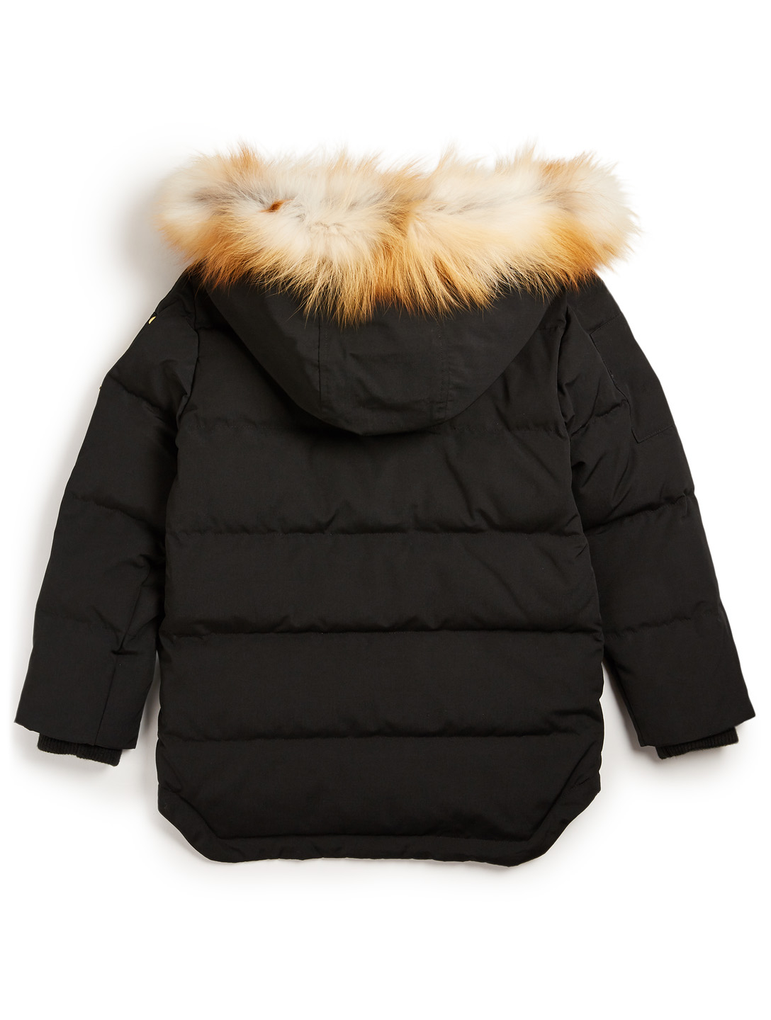 MOOSE KNUCKLES Youth Premium 3Q Down Coat With Fur Hood Kids Black