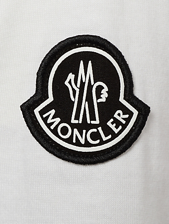 MONCLER GENIUS Tee-Shirt Make It Rain 8 Moncler x Palm Angels Hommes Blanc