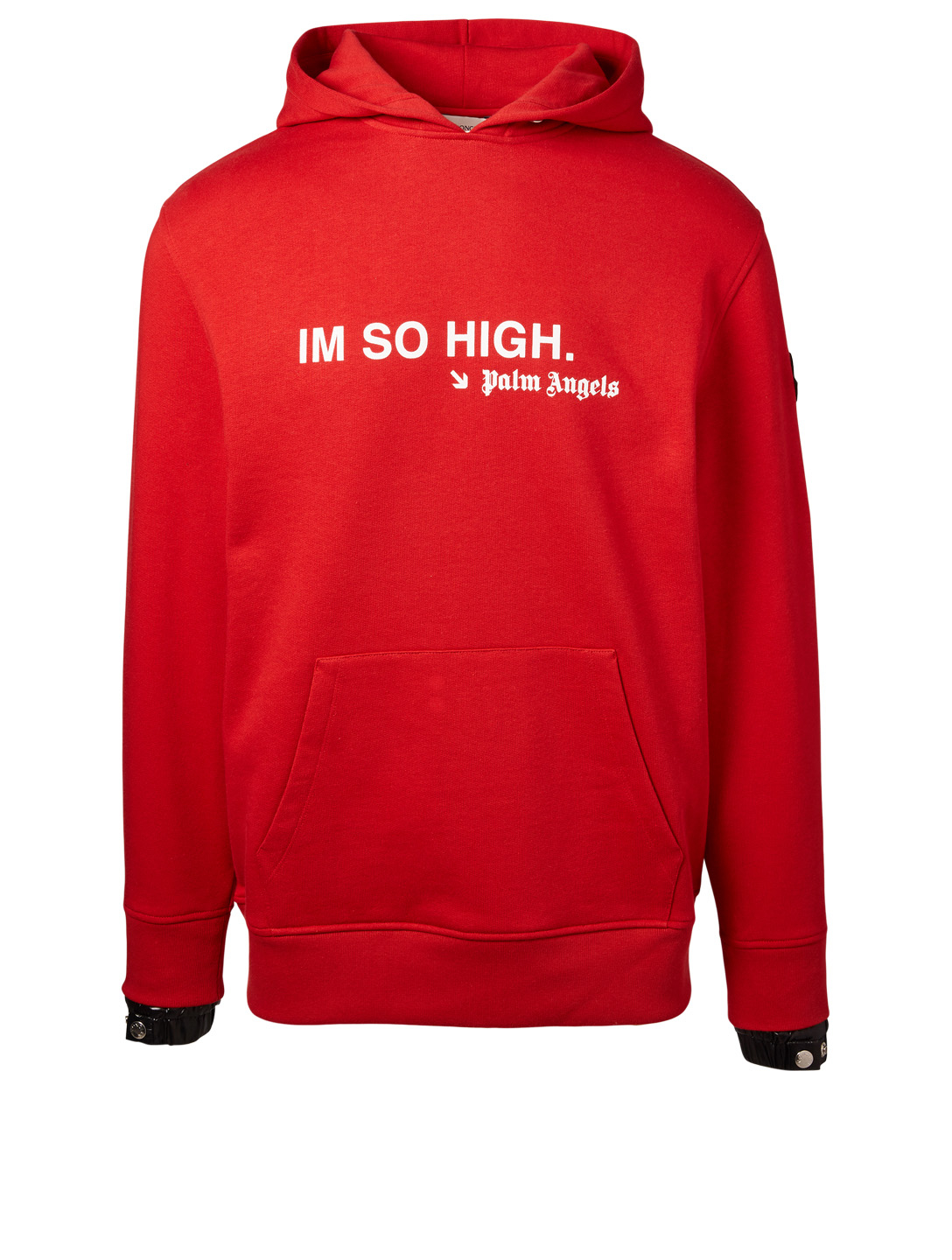MONCLER GENIUS Pull à capuche Im So High 8 Moncler x Palm Angels Hommes Rouge