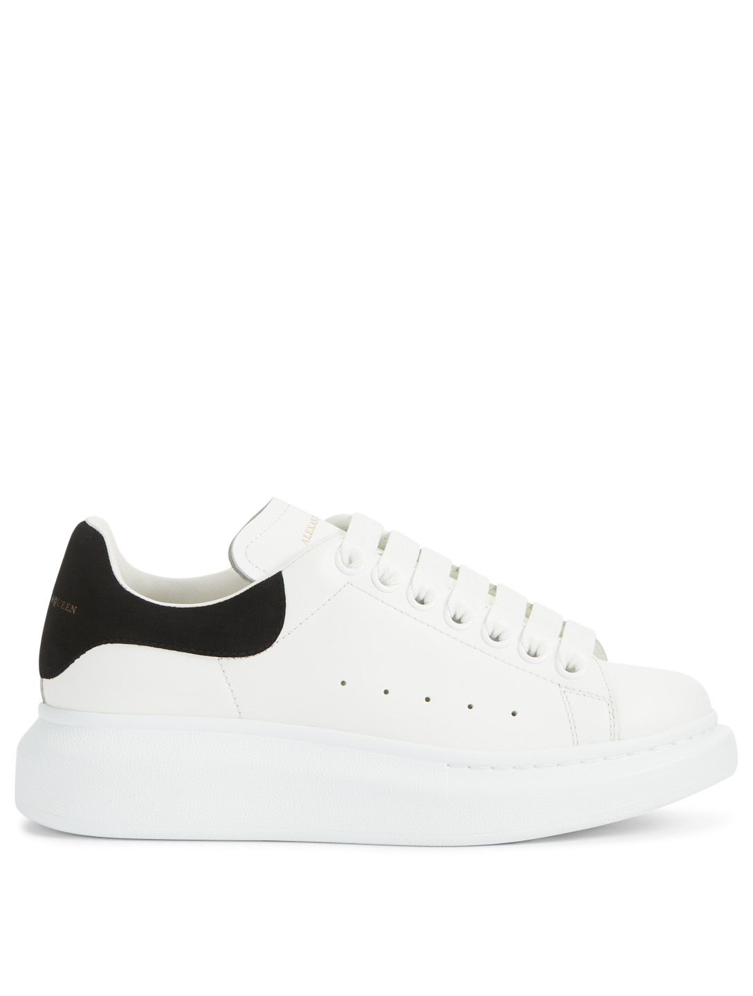 ALEXANDER MCQUEEN Oversized Leather Sneakers Womens Multi