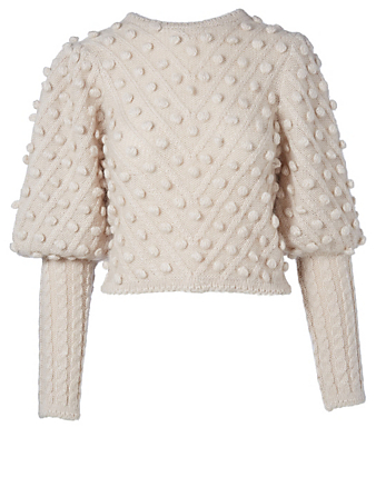 ZIMMERMANN Unbridled Bauble Wool-Blend Sweater Women's Multi