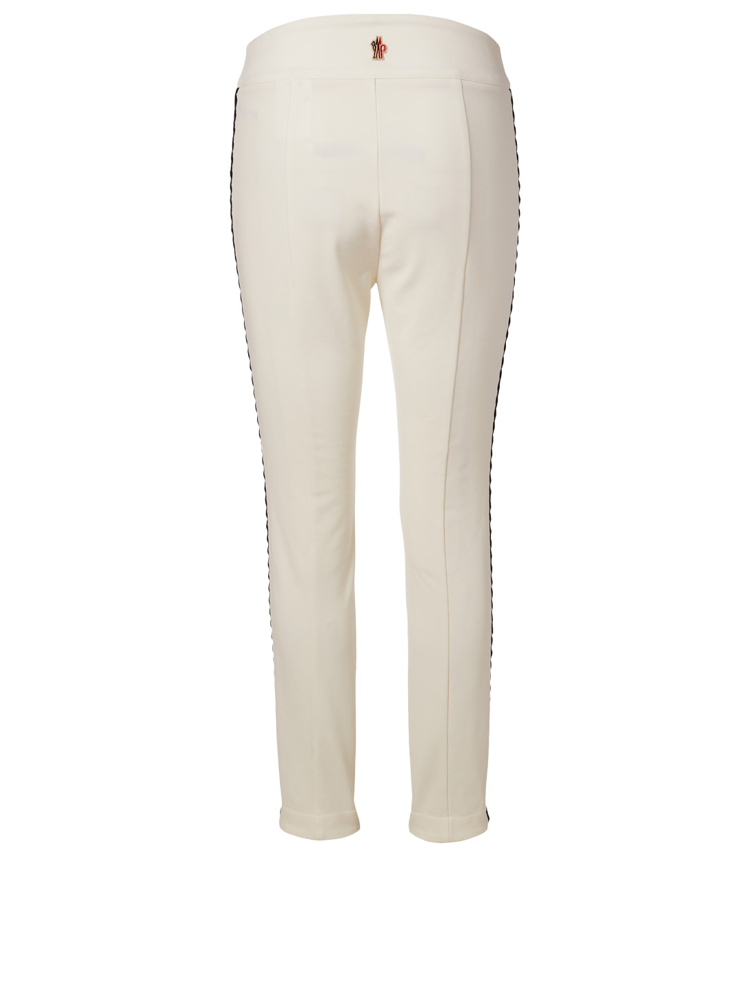 MONCLER GRENOBLE Bourget Ski Pants With Scallop Trim Women's White
