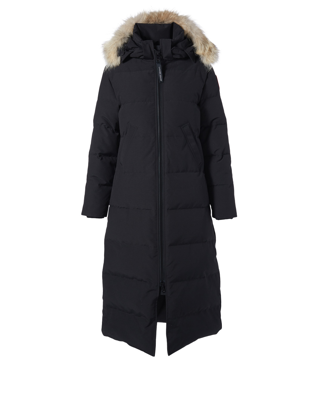 CANADA GOOSE Mystique Down Parka With Fur Hood - Fusion Fit Women's Black
