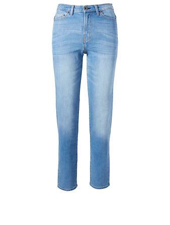 OUTLAND DENIM Abigail High-Rise Tapered Jeans H Project Blue