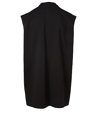 RICK OWENS Tarp Embroidered Muscle Tank Men's Black