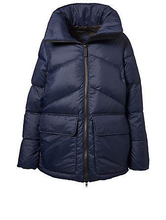 CANADA GOOSE Ockley Black Label Down Parka Women's Blue