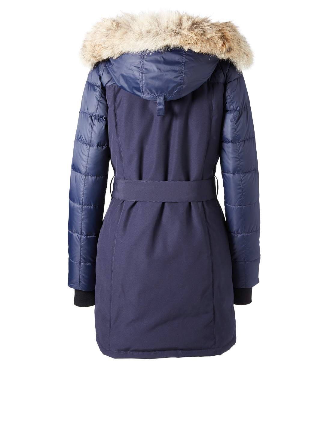 CANADA GOOSE Rowan Black Label Down Parka With Fur Women's Blue