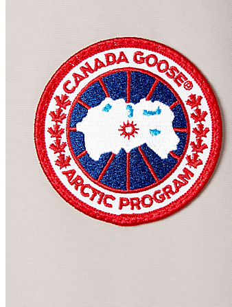 CANADA GOOSE Trillium Down Parka With Fur Womens Neutral