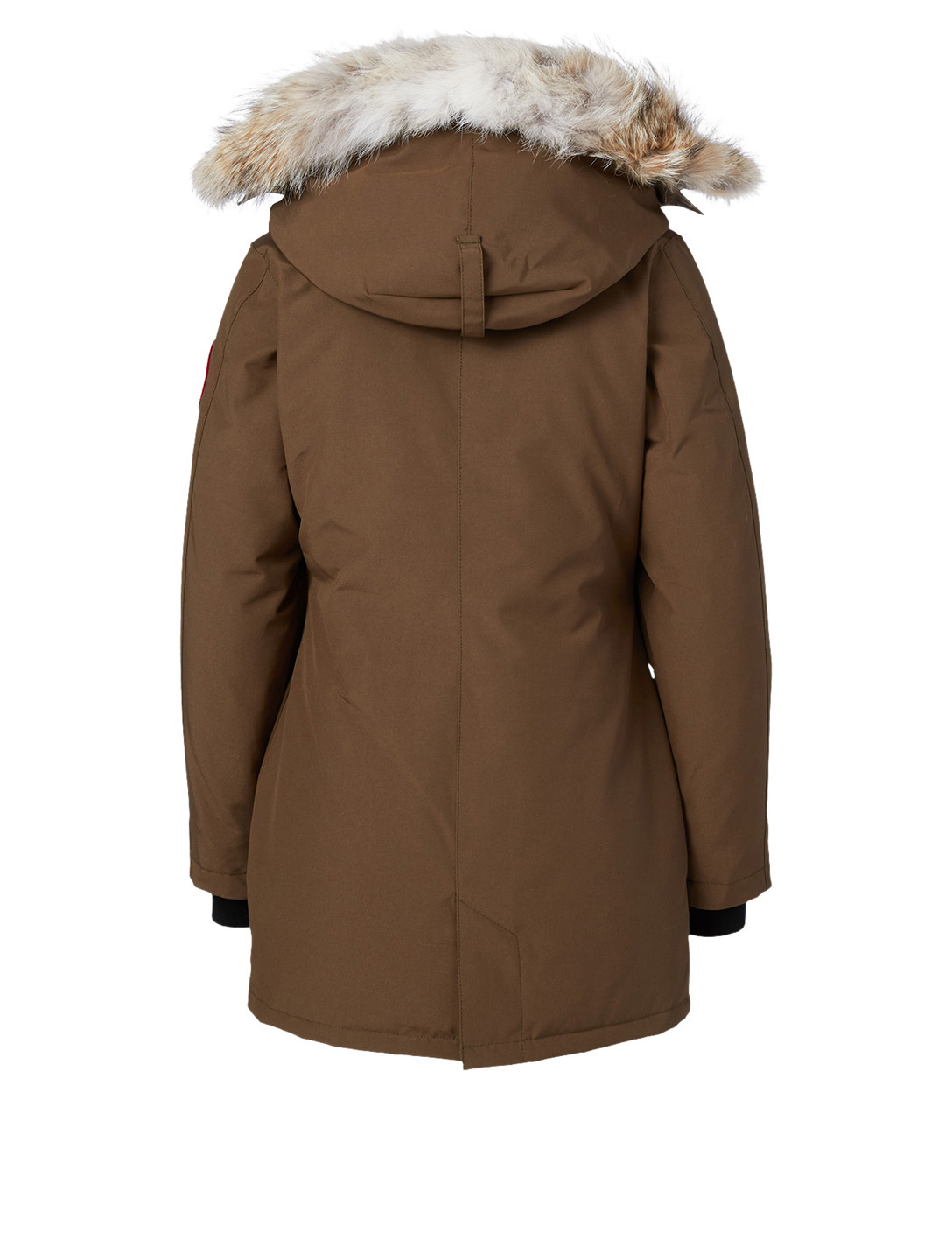 CANADA GOOSE Victoria Down Parka With Fur Hood - Fusion Fit Women's Green