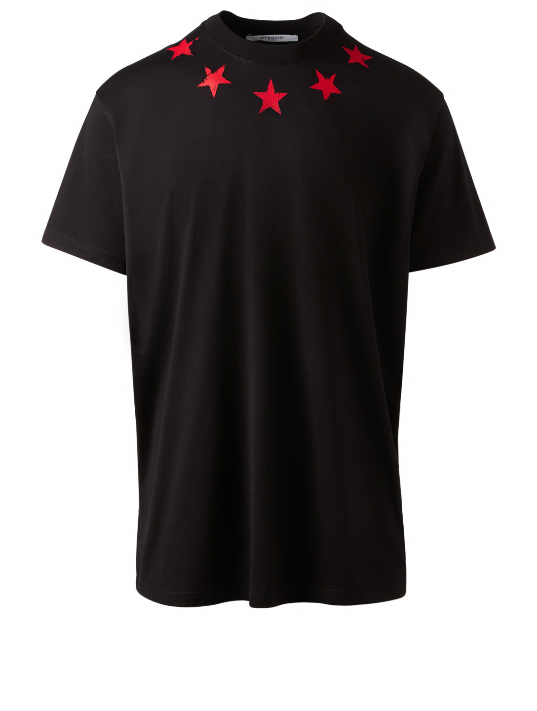 GIVENCHY Vintage Stars T-Shirt Men's Black