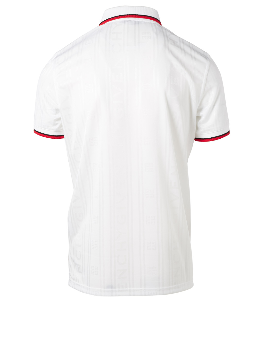 GIVENCHY Short Sleeve Polo Shirt Men's White