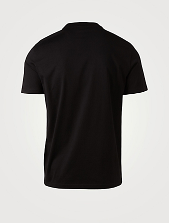 GIVENCHY Cotton Vintage Logo T-Shirt Men's Black