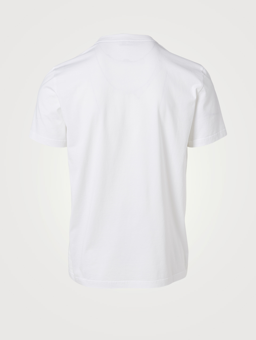 GIVENCHY Cotton Slim T-Shirt With Vintage Logo Men's White