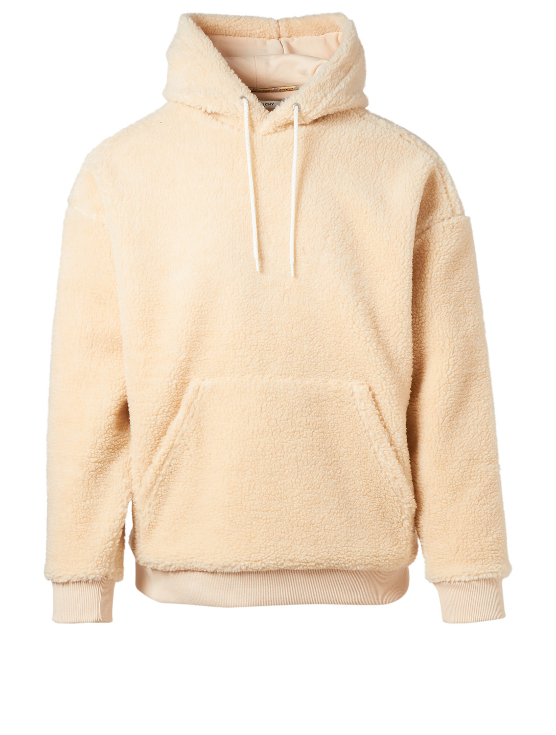GIVENCHY Teddy Fleece Hoodie Men's Neutral