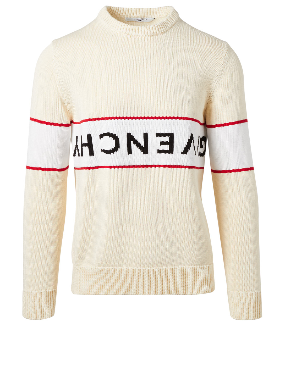 GIVENCHY Reverse Logo Sweater Men's Neutral