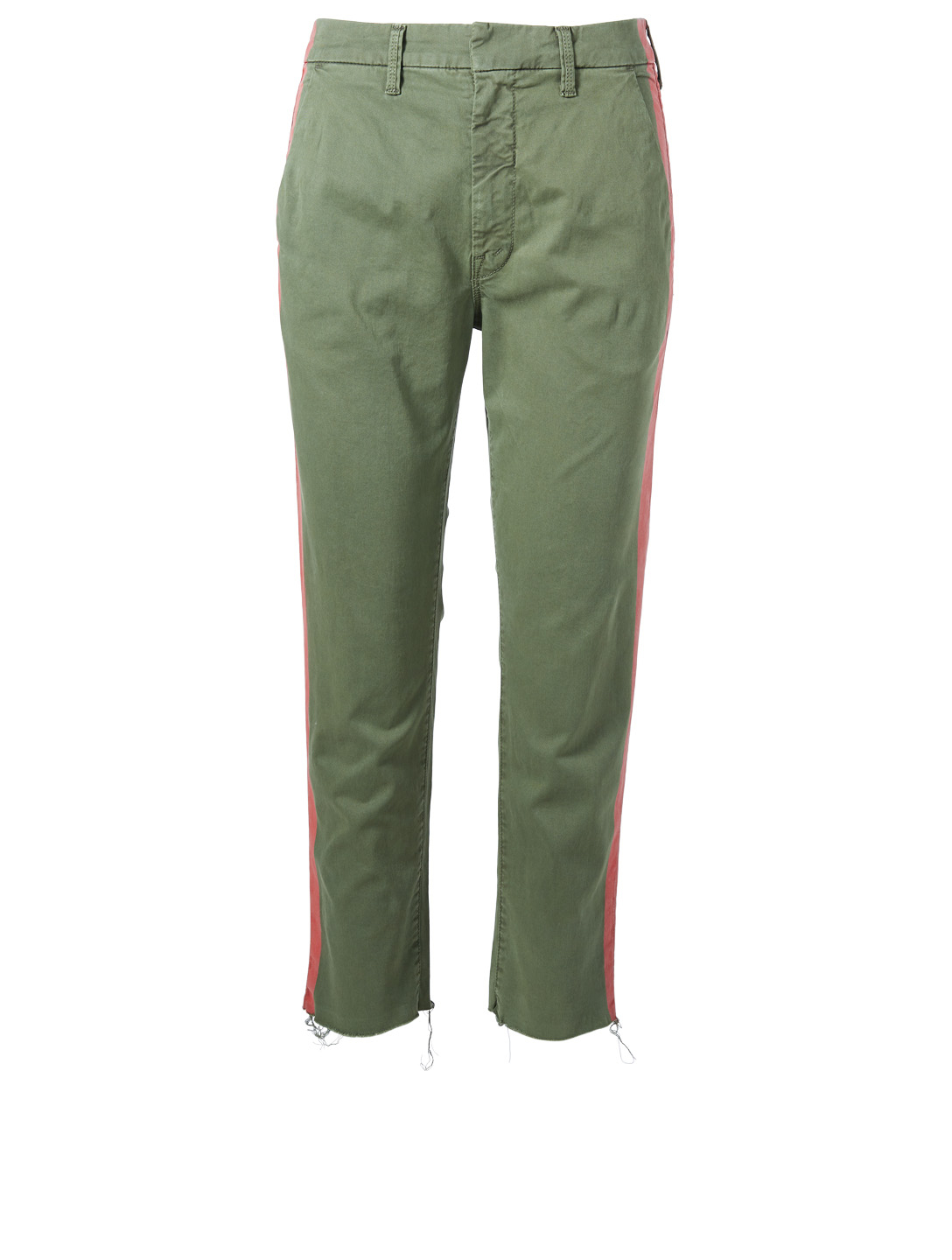MOTHER Shaker Prep Fray Pants Women's Green