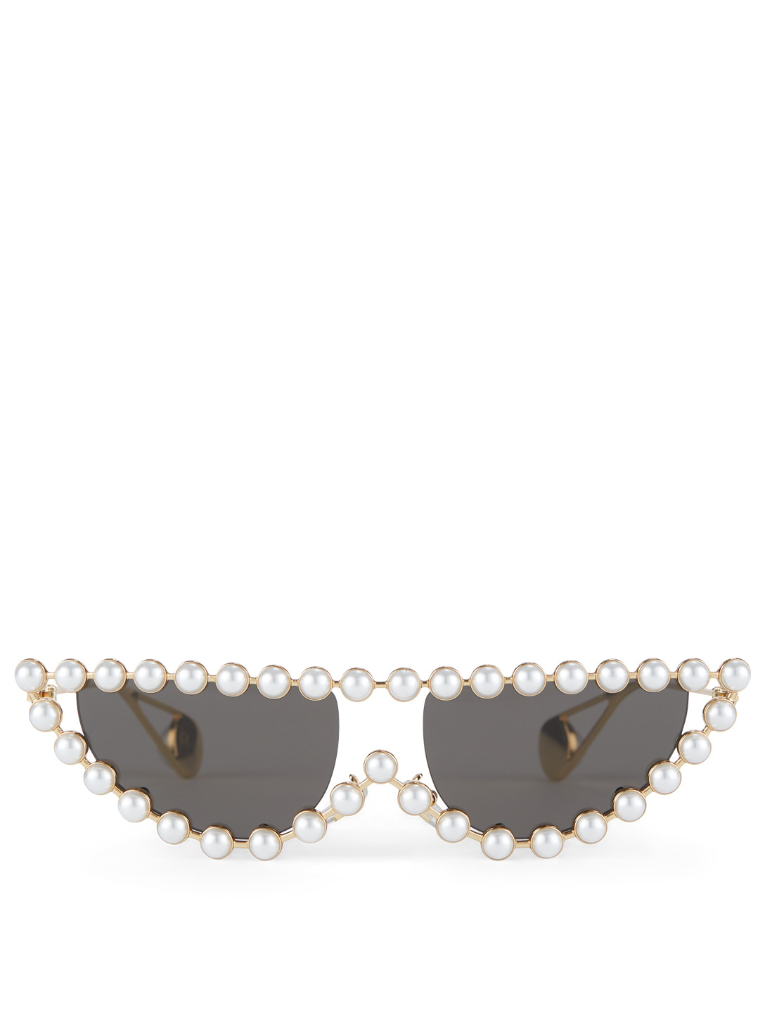 478de23516 GUCCI Cat Eye Sunglasses With Pearls