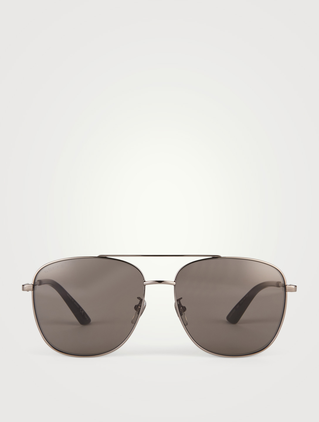 GUCCI Aviator Sunglasses Men's Grey