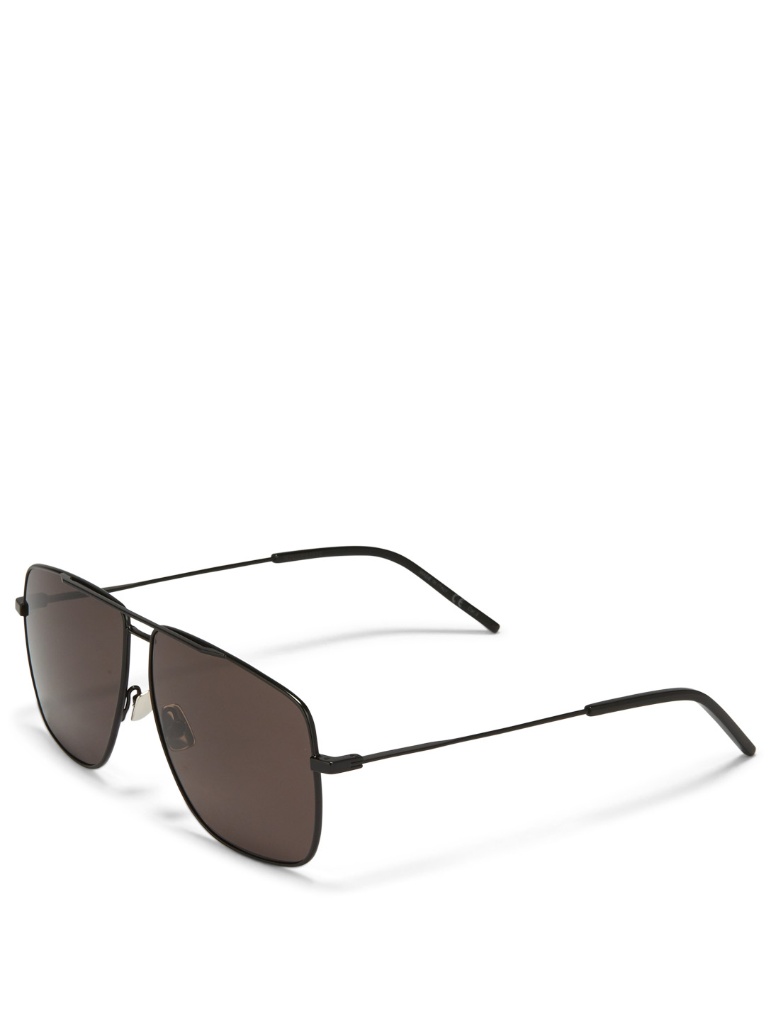 SAINT LAURENT 251 Aviator Sunglasses Men's Black