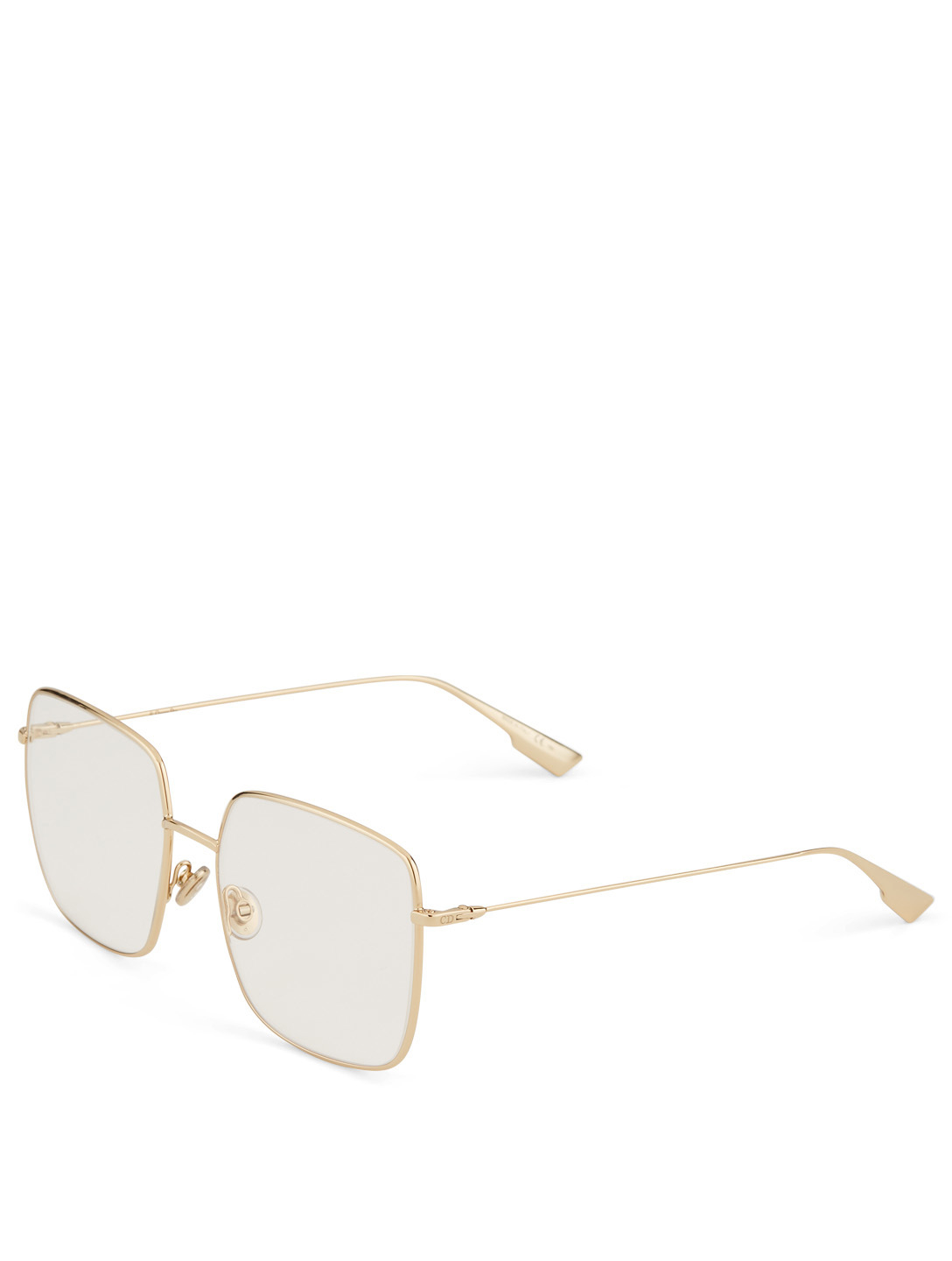 DIOR DiorStellaireO1 Square Optical Glasses Womens Gold