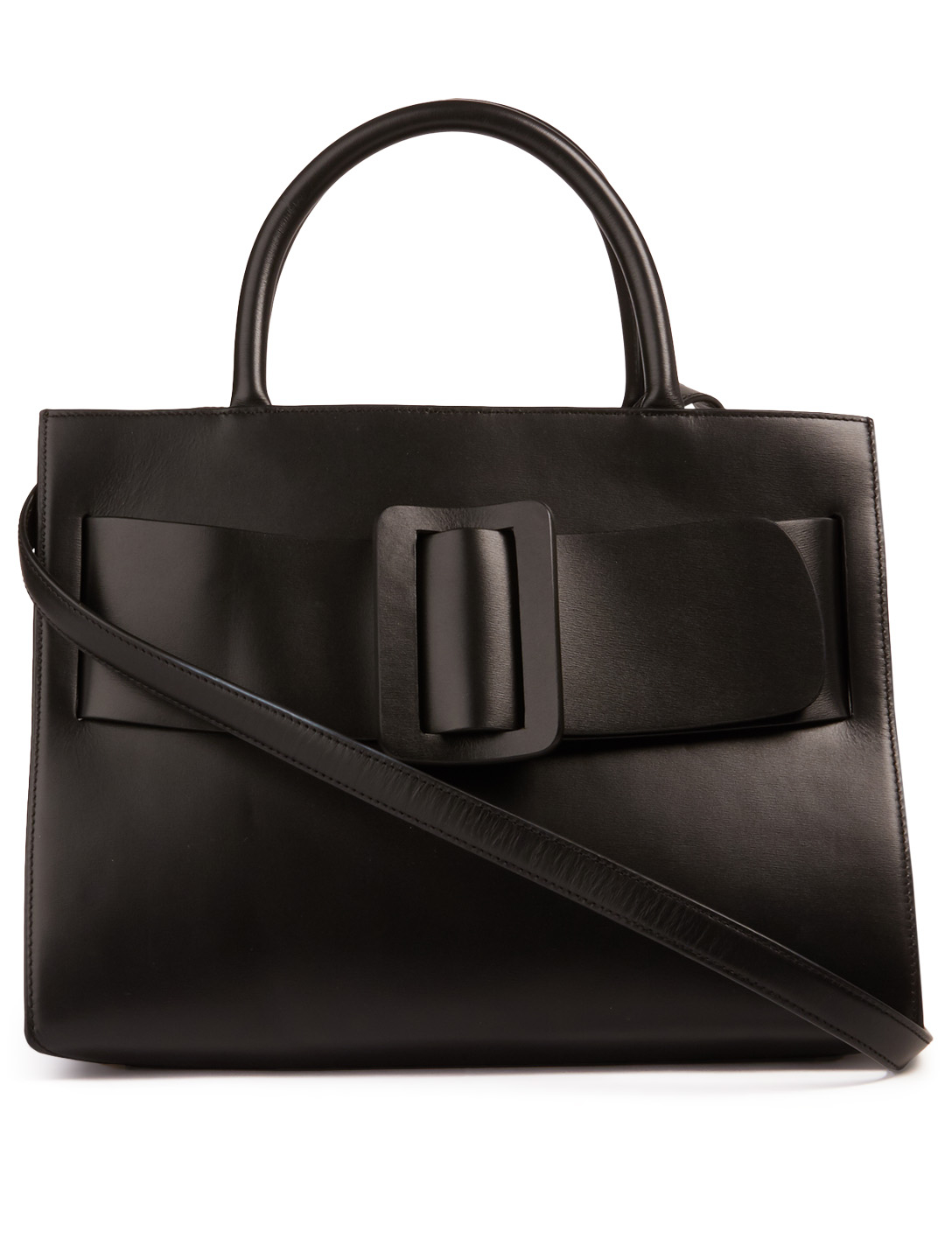 BOYY Bobby Leather Top Handle Bag Womens Black