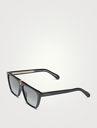 GIVENCHY Shield Sunglasses Men's Black