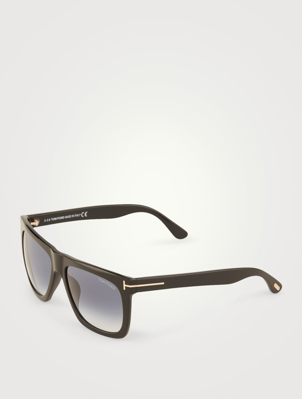78a944acdc ... TOM FORD Morgan Rectangular Sunglasses Men s Blue