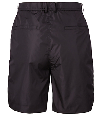JUUN J Panelled Nylon Shorts Men's Black