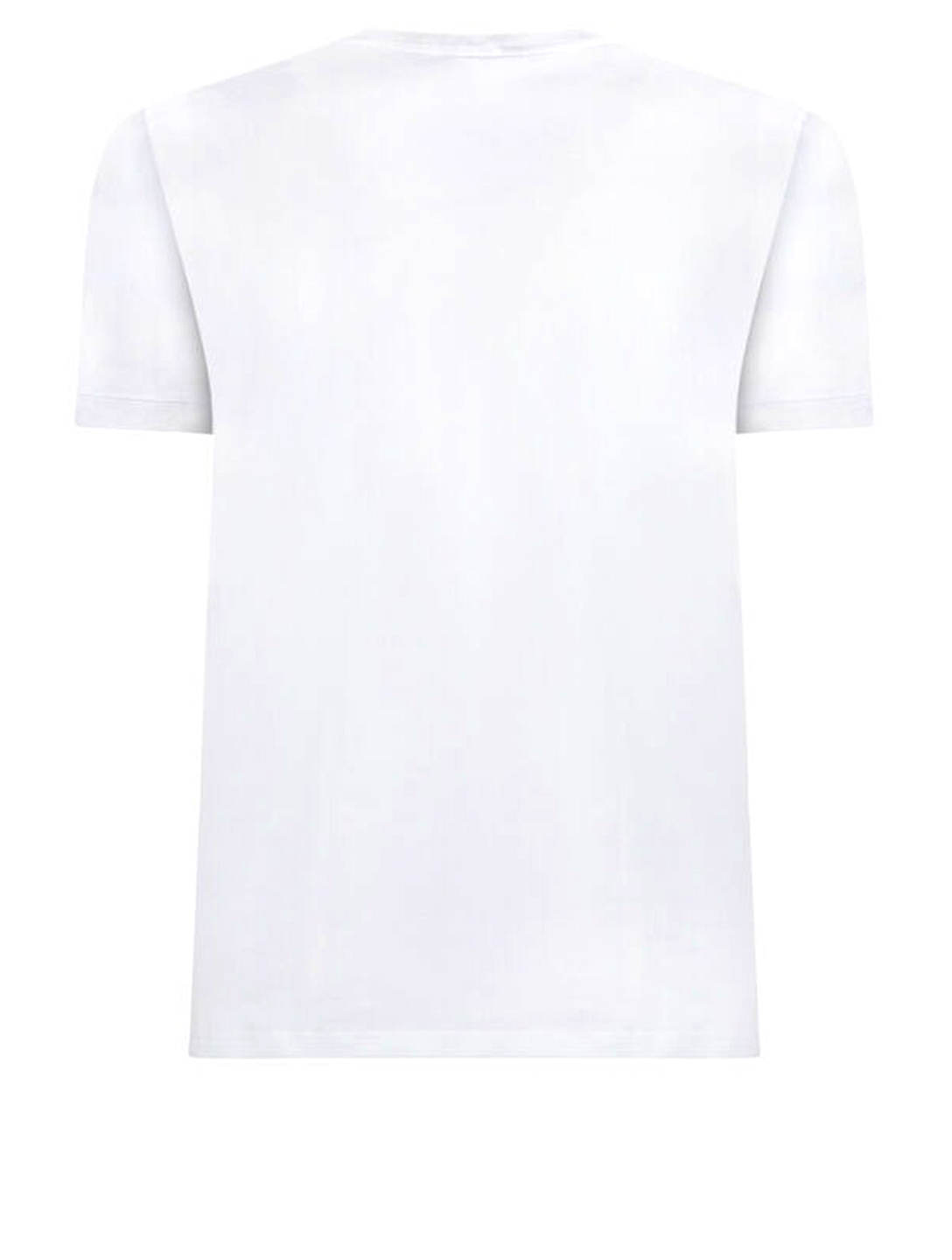 DOLCE & GABBANA Crewneck T-Shirt Men's White