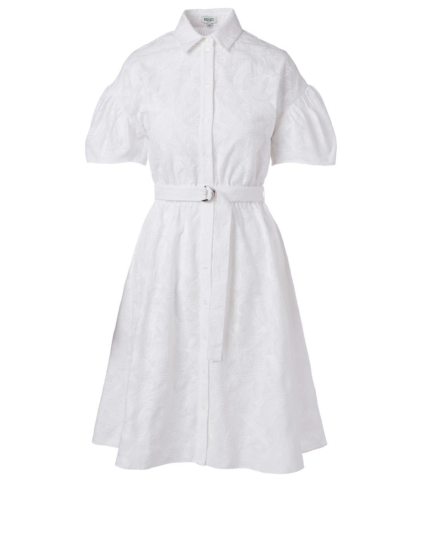 b802ac7aa7 KENZO Embroidered Shirt Dress | Holt Renfrew